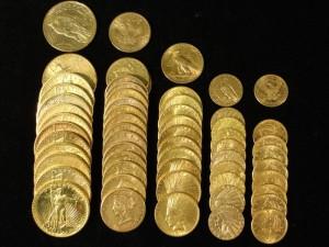 Goudbank Pejati Verkoop munten